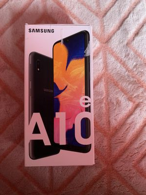Samsung galaxy A10e for Sale in District Heights, MD