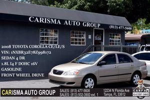 2008 Toyota Corolla for Sale in Tampa, FL