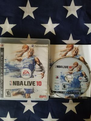NBA LIVE 10 (PS3) for Sale in US