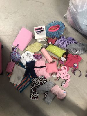 Huge lot of American girl doll clothes and accessories for Sale in Miami, FL