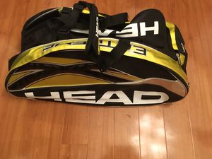 Head tennis racket duffle. Very large.. like new! for Sale in Cupertino, CA