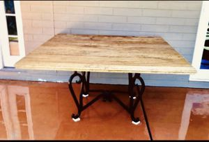 Granite kitchen table 4 feet by 4 feet for Sale in Tempe, AZ