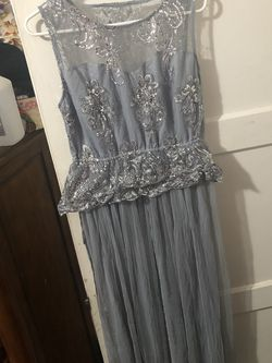 Formal Silver Sequin Dress for Sale in San Diego,  CA