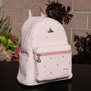 READ DESC Loungefly Disney Days Sleeping Beauty Castle Pink Mini Backpack for Sale in Long Beach, CA