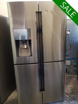💥💥💥Samsung AVAILABLE NOW! Refrigerator Fridge Quad Door #1497💥💥💥 for Sale in Riverside, CA