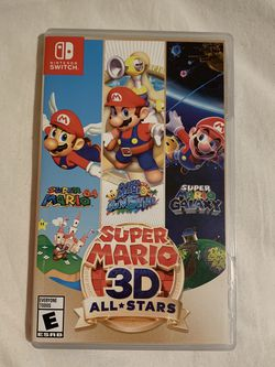Super Mario 3D All Stars Nintendo Switch Game for Sale in Renton,  WA