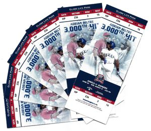 Rangers vs LAA Angels. Wed 8/21/19, Club Level, section 236 row 3! for Sale in Arlington, TX
