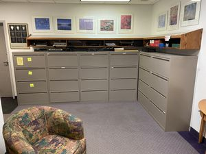 Four drawer lateral file cabinets for Sale in Cleveland, OH