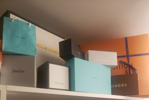 Collection of high end AUTHENTIC luxury gift boxes and bags for Sale in Brooklyn, NY