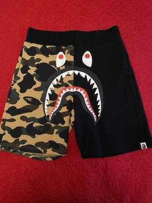 Bape 1st Camo Shark Shorts Size Medium for Sale in Las Vegas, NV