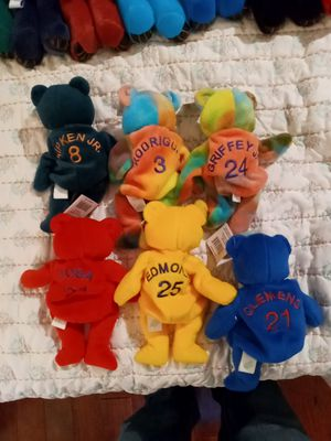 6 Bamm Beanos Beanie Babies for Sale in Anderson, SC