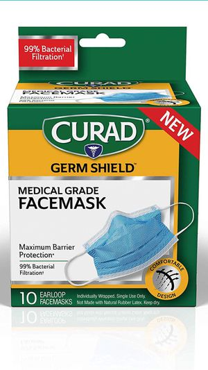 """FACE MASK """"CURAD GERM SHIELD"""" for Sale in Las Vegas, NV"""
