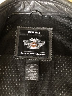 601a5b3dfee Harley Davidson leather coat. for Sale in Mission Viejo