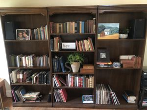 Vintage wood bookshelves for Sale in Costa Mesa, CA