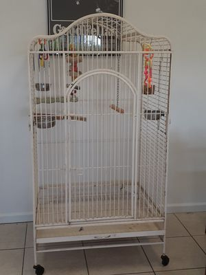 Bird cage opens on the top for Sale in Fort Pierce, FL