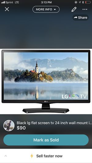 24 inch LG tv for Sale in Millersville, MD