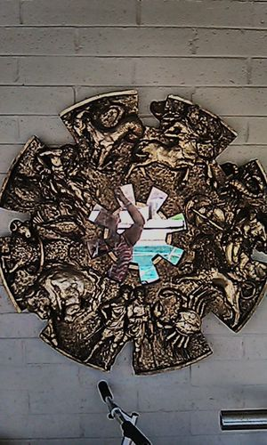 Hand crafted Zodiac mirror for Sale in Tempe, AZ