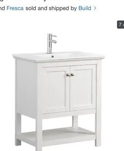 "Fresca Cambria 30"" Free Standing Vanity (no Sink) White for Sale in Newport Beach,  CA"
