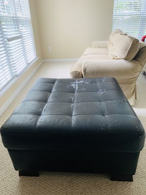 FREE - Couch and Ottoman for Sale in Charlotte, NC
