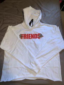 Vlone Covid-19 friends angel hoodie white for Sale in Shoreline,  WA