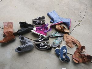 13 pairs added some sandals for Sale in Clovis, CA