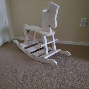 Wooden Rocking Horse for Sale in Peoria, AZ