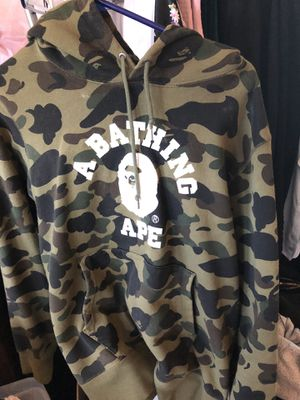 bape camo sweater hoodie for Sale in Union City, CA