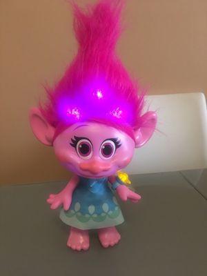 Trolls Poppy Doll / lights up for Sale in Hialeah, FL
