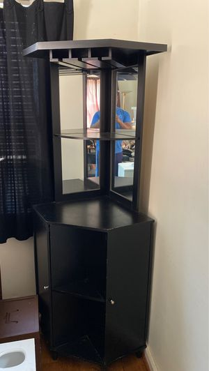 Corner Unit with cabinets and wine rack for Sale in Washington, DC