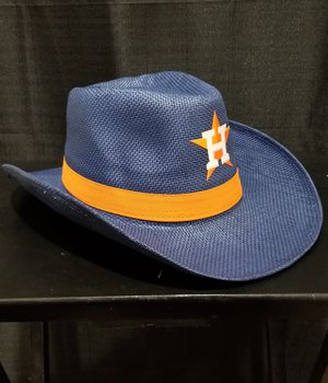 Houston Astros Cowboy Hat - BBQ Voucher Exclusive on Saturday the 7th for Sale in Rosenberg, TX