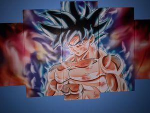 Goku Ultra Instinct 5 piece canvas for Sale in Virginia Beach, VA