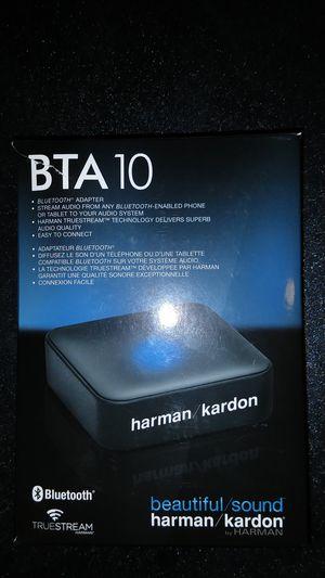 Harmon/Kardon Bluetooth adapter, BTA 10 for Sale in Anchorage, AK