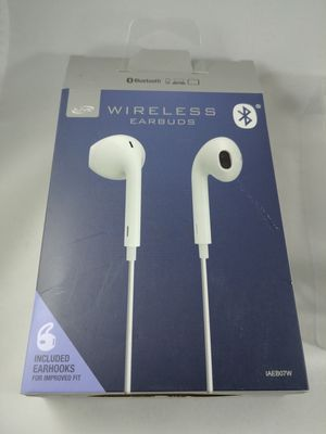 Wireless Bluetooth iLive Headphone Earbud Headset For iPhone/Android (white) for Sale in Federal Way, WA