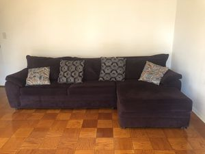 2 Set Couch for sale! L-Sectional, adjustable for Sale in Silver Spring, MD