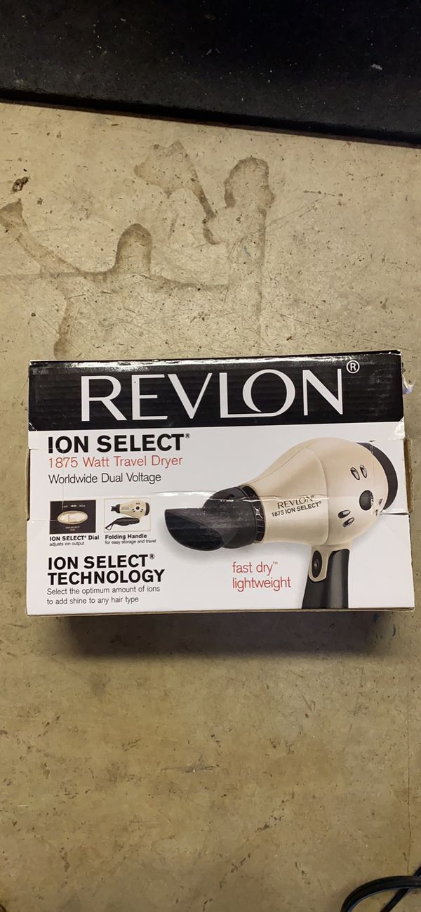 Revlon 1875W Compact Travel Hair Dryer