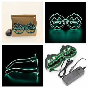 New Green Pumpkin Light Up Led Flashing Glasses for Sale in San Angelo, TX