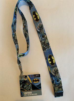 Batman lanyard for Sale in Grand Prairie, TX