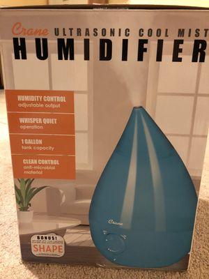 Crane Ultrasonic cool Mist drop shape Humidifier for Sale in Manassas, VA