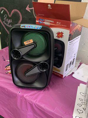 Karaoke speaker for Sale in Tulsa, OK