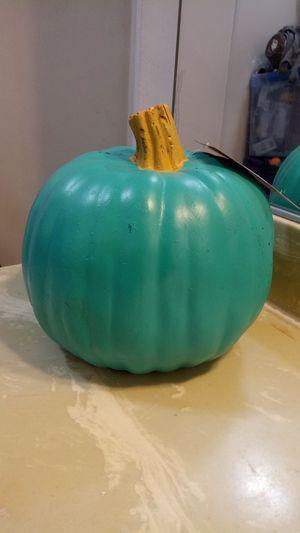 Medium size teal pumpkin for Sale in Los Angeles, CA