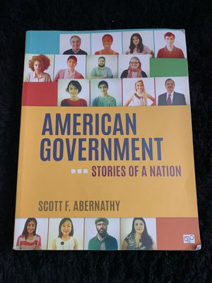 American Government - Stories of a Nation (Textbook) for Sale in Glendale, CA
