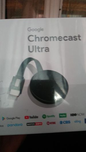 ChromeCast Ultra for Sale in Philadelphia, PA