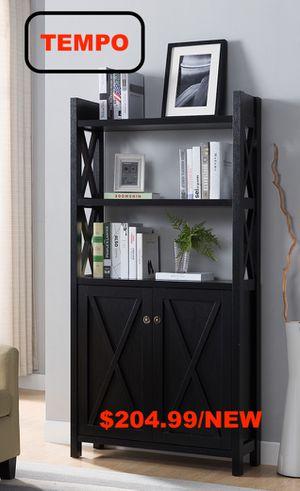 Stylish Bookcase, Black for Sale in Huntington Beach, CA