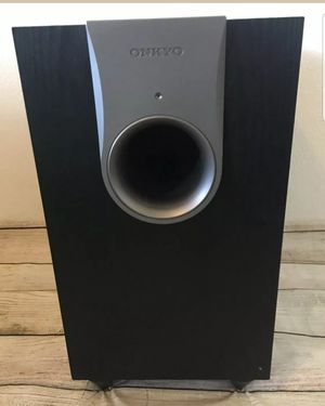 ONKYO KW-550 Powered Subwoofer for Sale in Egg Harbor Township, NJ
