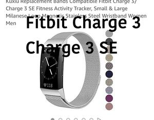 Fitbit Charge 3/charge 3 SE for Sale in Fresno, CA