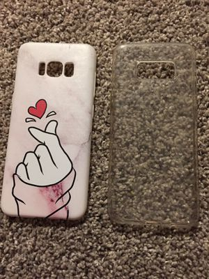 2 Samsung galaxy s8 cell phone cases for Sale in Gig Harbor, WA