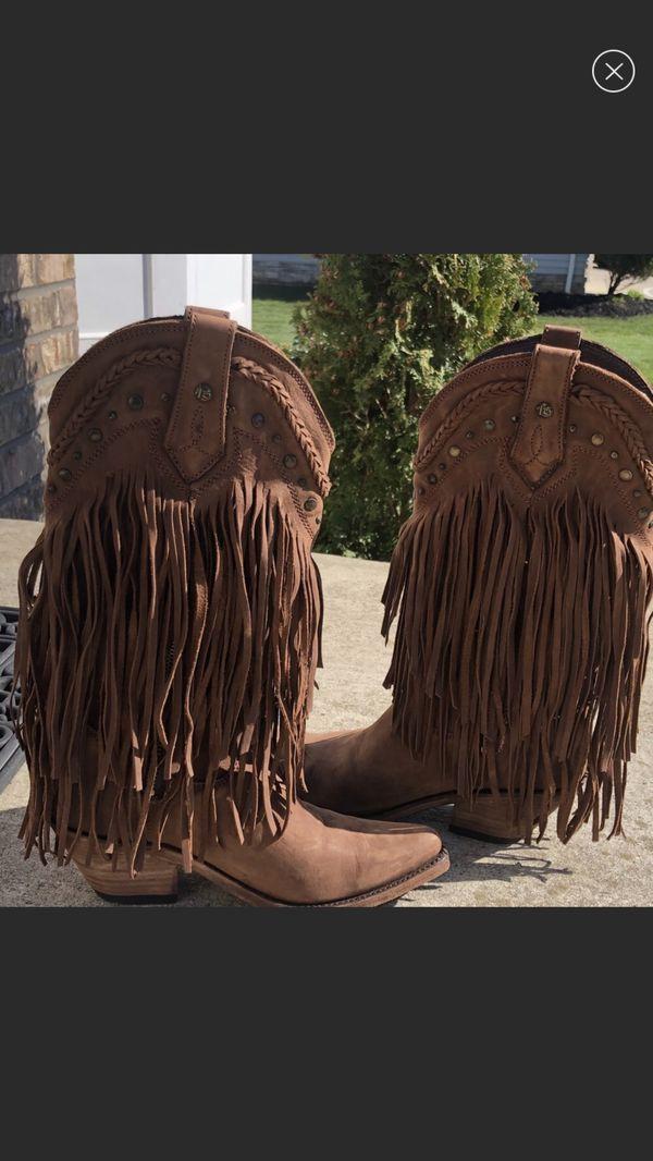 Fringe boots size 7.5