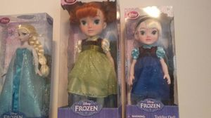 Disney frozen toddler dolls for Sale in Tampa, FL