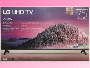LG 75 HDR 4K UHD Smart IPS LED TV (75UM6970) for Sale in Gastonia, NC