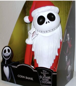Santa Jack Coin Bank for Sale in San Diego, CA